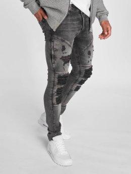 2Y Jeans ajustado Fortino negro