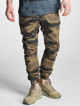 2Y Pantalon cargo Denim camouflage