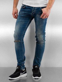 2Y Skinny Jeans Jaxon blau