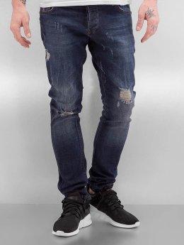 2Y Skinny Jeans Mons blau
