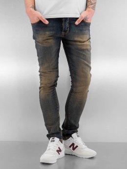 2Y Skinny Jeans Washed blau