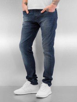 2Y Skinny Jeans Pattern blau