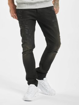 2Y Skinny Jeans Used czarny