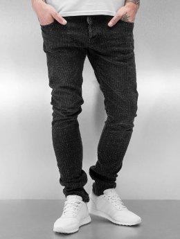 2Y Skinny Jeans Svaki schwarz