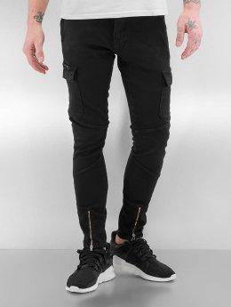 2Y Skinny Jeans Bristol schwarz