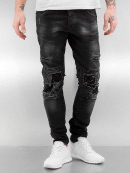 2Y Skinny Jeans Grischa schwarz