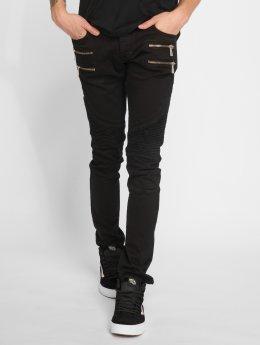 2Y Skinny Jeans Savage schwarz