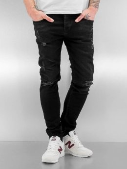2Y Skinny jeans Chester zwart