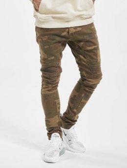 2Y Slim Fit -farkut Pakka camouflage