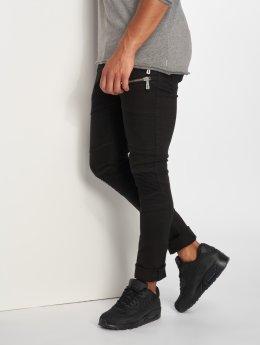 2Y Slim Fit -farkut Rock musta