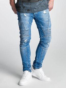 2Y Slim Fit -farkut Gang Gang sininen
