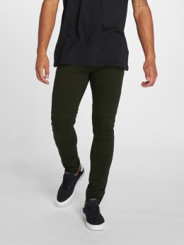 2Y Slim Fit Jeans Dio оливковый