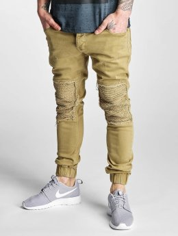 2Y Slim Fit Jeans Denim Jogger beige