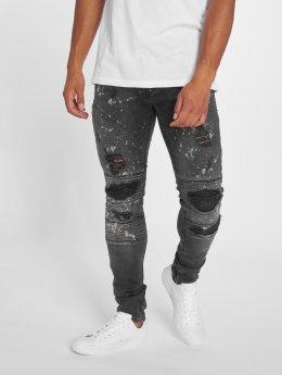 2Y Slim Fit Jeans Prem grå