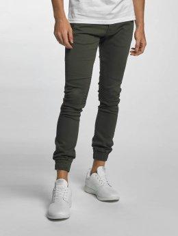 2Y Slim Fit Jeans Sheffield  hnědožlutý
