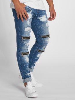 2Y Slim Fit Jeans Irmo modrá