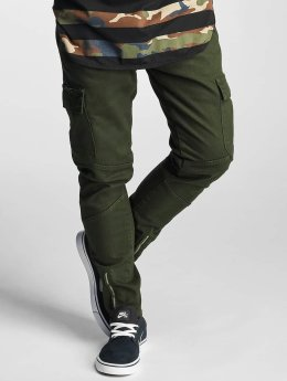 2Y Slim Fit Jeans Adres olivová