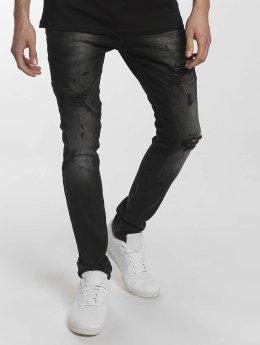 2Y Slim Fit Jeans Modern Tactic svart