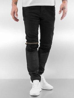 2Y Slim Fit Jeans Avery zwart