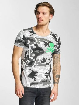 2Y T-skjorter Camo grå