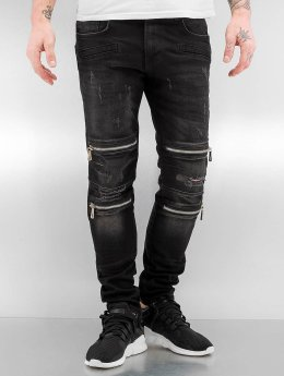 2Y Tynne bukser Leyton  svart