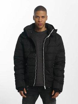 98-86 Gewatteerde jassen Quilted zwart