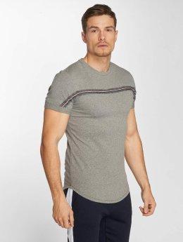 Aarhon Camiseta Streak  gris