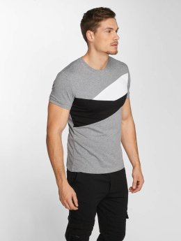Aarhon Camiseta Stripes gris
