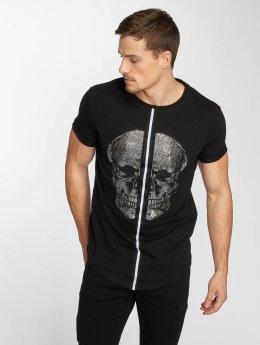 Aarhon Camiseta Skull negro