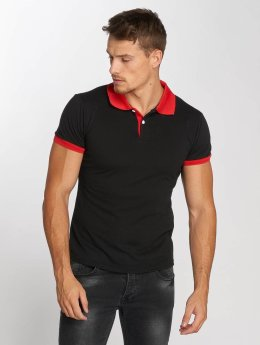 Aarhon Camiseta polo Basic negro