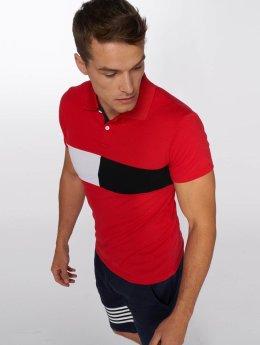Aarhon Camiseta polo Block rojo