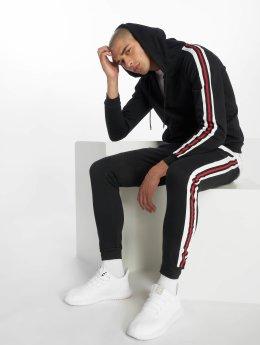 Aarhon Chándal Classic Stripes negro