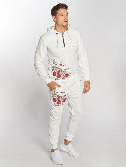 Aarhon Ensemble & Survêtement Roses blanc