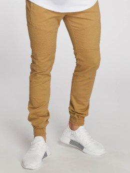 Aarhon Jeans ajustado Lazio marrón