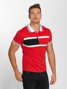 Aarhon Polo Block Stripes rouge