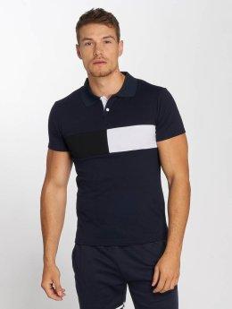 Aarhon Poloshirt Block blau