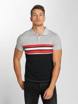 Aarhon poloshirt Two Colours grijs