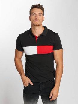 Aarhon Poloshirt Block schwarz