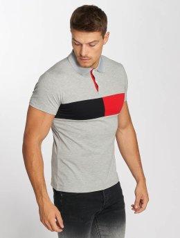 Aarhon Poloshirts Block grå