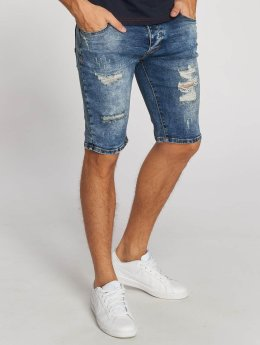 Aarhon Shorts Destroyed blau