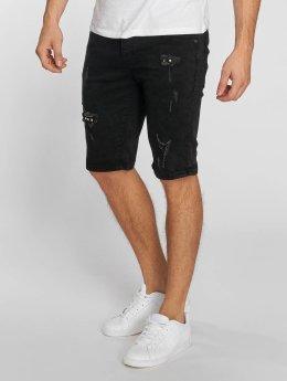 Aarhon shorts Denim zwart