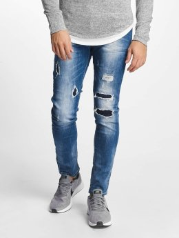 Aarhon Slim Fit -farkut Pisa sininen