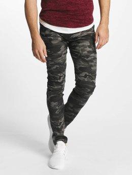Aarhon Slim Fit Jeans Fiorentina šedá