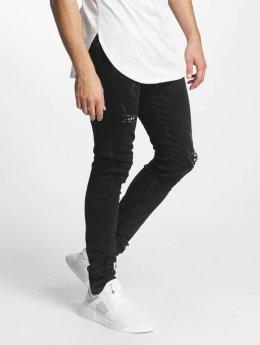 Aarhon Slim Fit Jeans Laszio sort