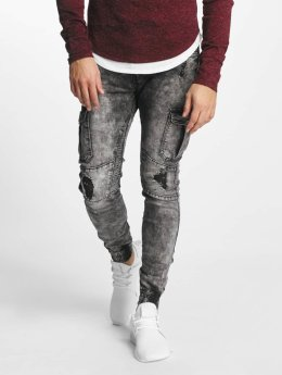 Aarhon Slim Fit Jeans Nizza zwart