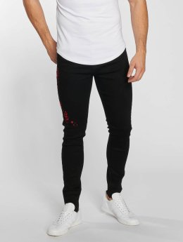 Aarhon Straight Fit Jeans Roze black