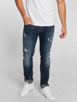 Aarhon Straight Fit Jeans Allen blau