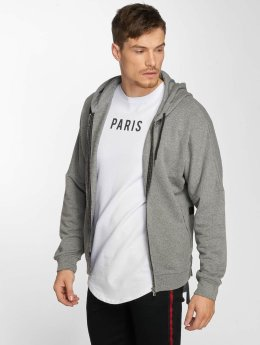 Aarhon Nizza Zip-Hoody Grey