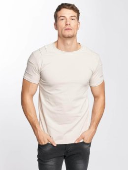 Aarhon T-Shirt Destroyed beige