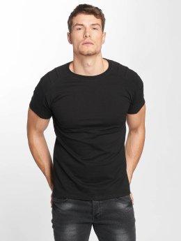 Aarhon T-Shirt Destroyed black